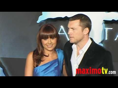 SAM WORTHINGTON at AVATAR Los Angeles Premiere Arrivals December 16, 2009 Video