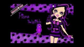 Monster High - theme song characters (all ghouls + BONUS)