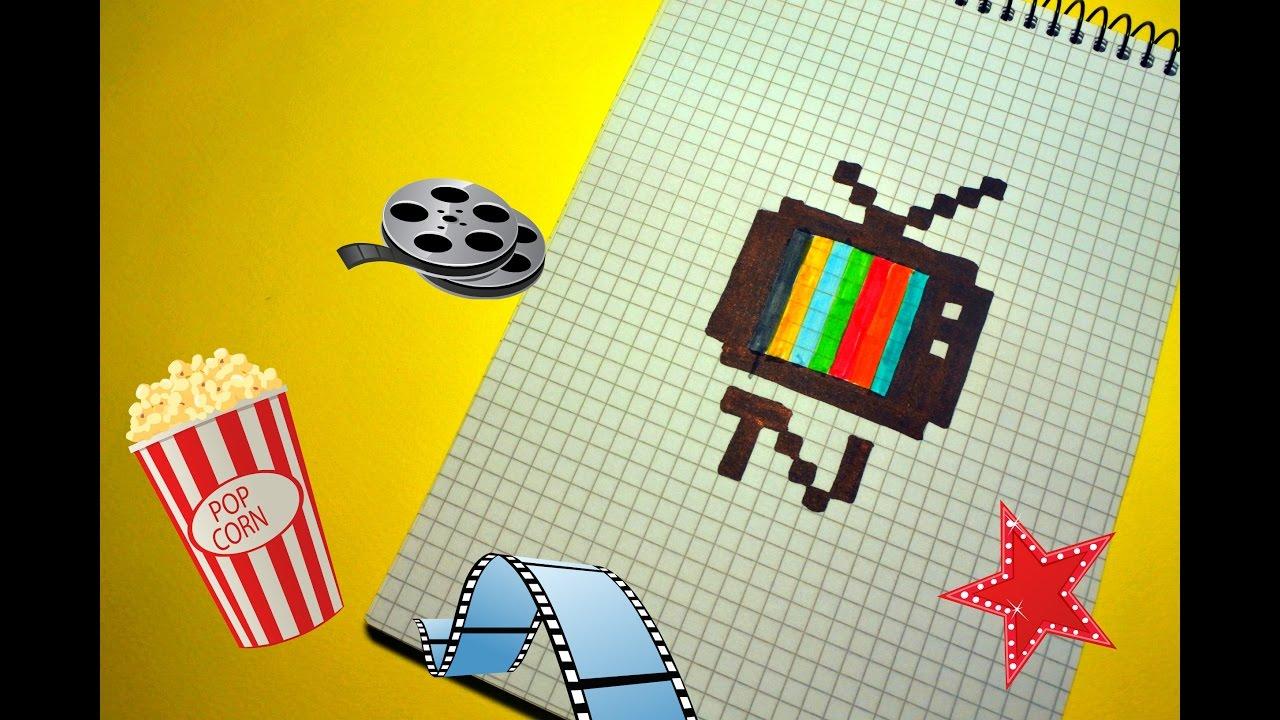 Рисуем телевизор