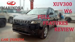 Mahindra XUV300 W6-Value For Money! Features