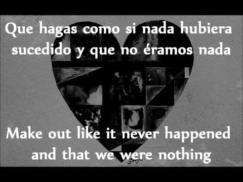 Gotye - Somebody That I Used To Know - Subtítulos en Inglés - Español