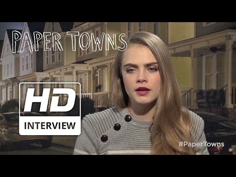 Paper Towns | 'Nat Wolff & Cara Delevingne - Q&A' | Official HD Footage | 2015