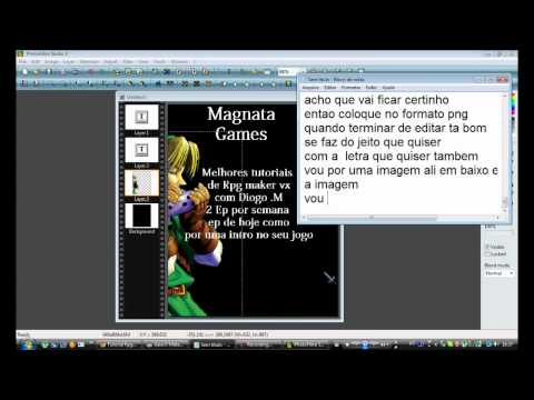 Tutorial Rpg Maker Vx parte 9 [MAGNATA GAMES] Diogo .M