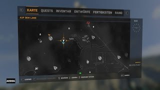 Dying Light The Following Weapon Paper Plane ORIGAMI 101 Blueprint Location
