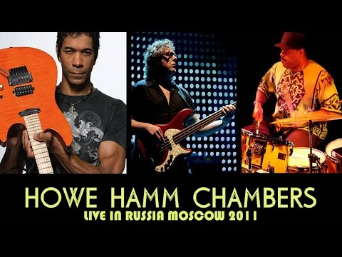 Greg Howe, Stewart Hamm, Dennis Chambers live in Moscow 2011