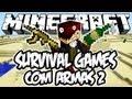 Survival Games com Armas 2 - No Deserto: Minecraft