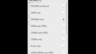 How to Solve No Signal and Network activity Android