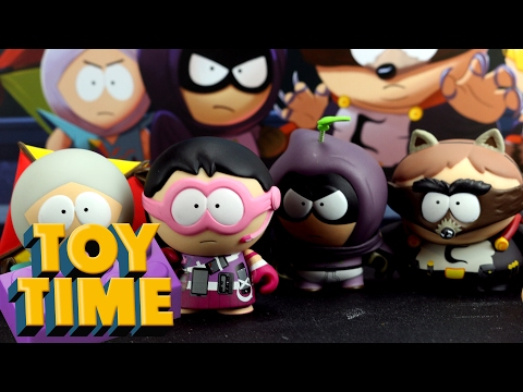 Toy Time Opens A Case Of Kid Root South Park: Fractured But Whole Figures