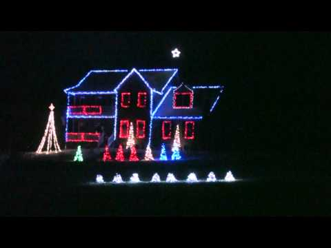 Rocking around the Christmas Tree Brenda Lee Christmas Light Show 2010 Music Videos