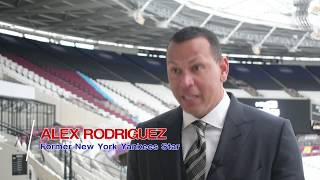 Alex Rodriguez quick question: Why bring Major League Baseball to London?
