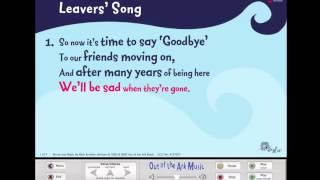 Leavers' Song - Words on Screen™ Original - Leavers Assemblies School Songs