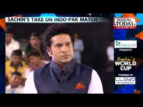 Sachin's World Cup: Building up to the Indo-Pak match