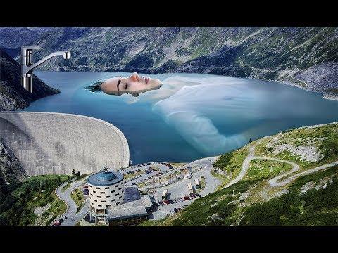 Австрия! Огромная плотина и самый высокий водопад!Красота!