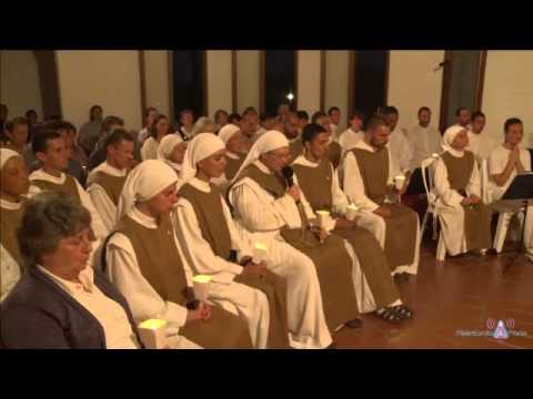 Aparicion de Maria 13 nov 13 en Aurora, Uruguay por Misericordia Maria TV