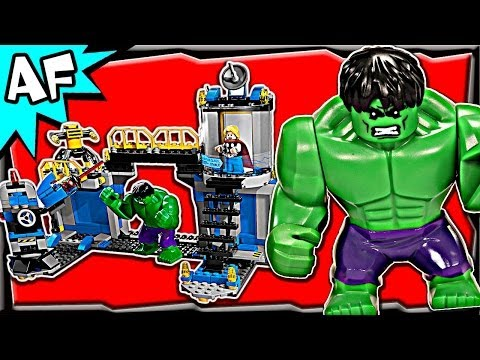 HULK LAB SMASH 76018 Lego Marvel Avengers Super Heroes Animated Building Review