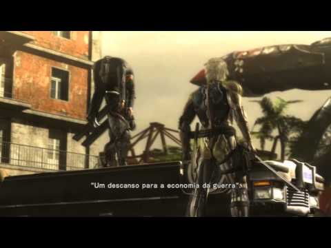 Metal Gear Rising Revengeance - Gameplay Comentado