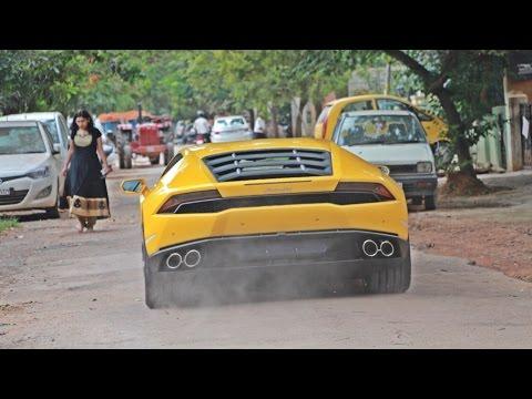 Lamborghinis in INDIA (Bangalore) 2015