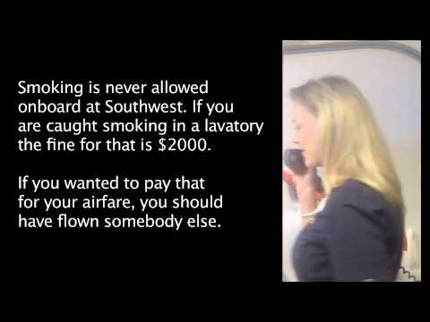 Hilarious Southwest Airline Safety Presentation (Open Captions)