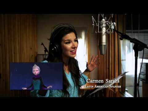 Frozen - Il Regno di Ghiaccio -- Let It Go - Studio version in 25 lingue | HD