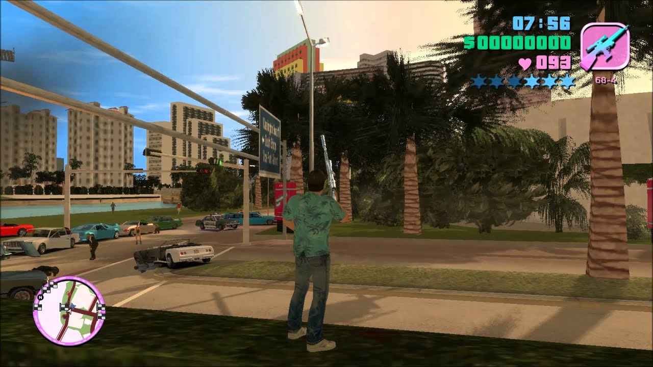 GTA : Vice City Rage Gameplay on HIGH settings - YouTube