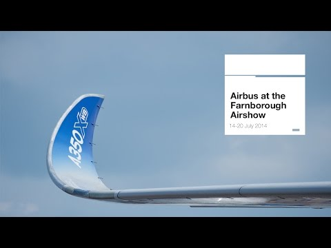 Farnborough Air Show 2014 - Tuesday 15 July - Commercial announcements (uncut version)