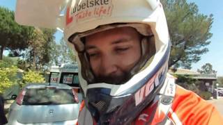 Sardegna Rally Race 2015: interview with Jakub Piatek at the end of the first stage