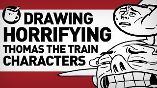 Drawing Thomas the Tank Engine Original Characters