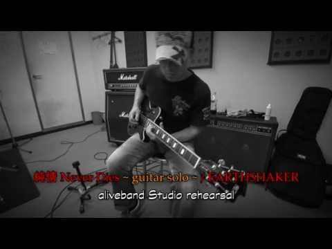 アースシェイカーの名曲『純情Never Dies』のギターソロ弾いてみた♪