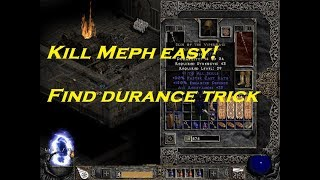EASY Trick to KILL MEPHISTO and Find Durance!