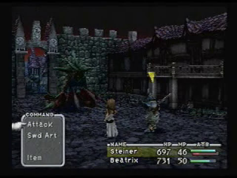 FFIX - Battle for Alexandria