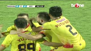 Madura United vs Bhayangkara FC: 1-3 All Goals Highlights - Liga 1