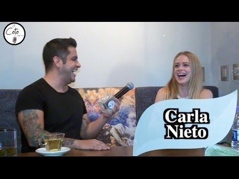 Carla Nieto en EL COTO con Momo Montes