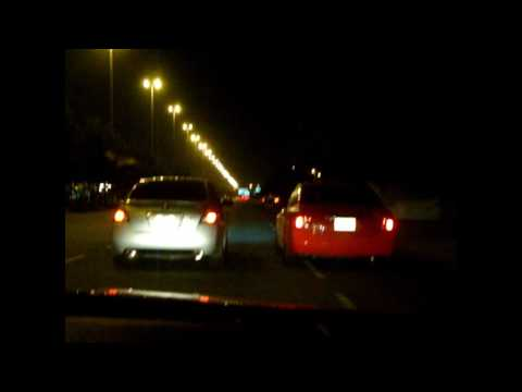 2005 2.5 Nissan Altima (Tuned) Vs 2008 2.5 Nissan Altima (Tuned) Video