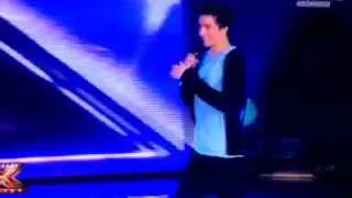 """Dario Guidi - XFactor 8 - """"La Canzone dell'Amore Perduto"""" Live."""