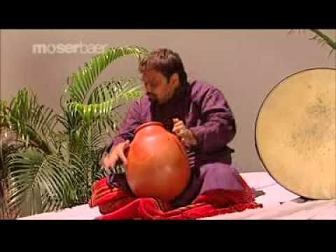 Amazing Indian Percussion by Selvaganesh - Ghatam solo