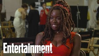 Danai Gurira Says She Overheated On Her First Day Of 'The Walking Dead' | Entertainment Weekly
