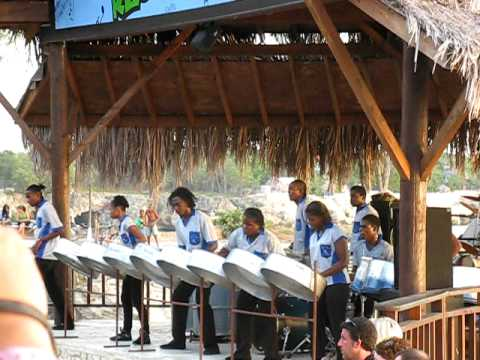 Rick's Cafe, Jamaica - Steel Drum Band