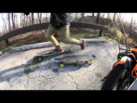 New Jersey Longboarding with the Pintail 46 built by Original Skateboards