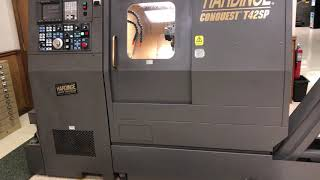 Iverson & Company Preowned Hardinge Conquest T42SP CNC Lathe with Live tooling and Ram Turret