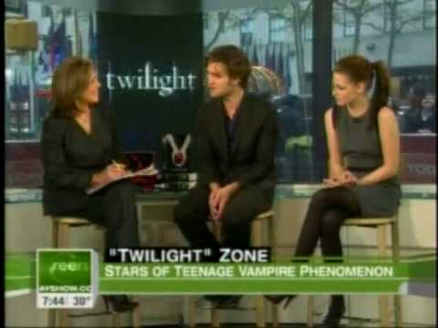 Interview ll Robert Pattinson &amp; Kristen Stewart