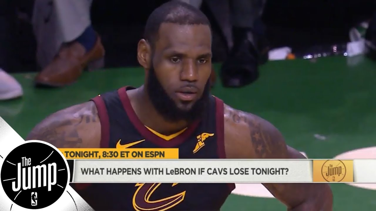 What happens with LeBron James if Cavaliers lose to Celtics? | The Jump | ESPN