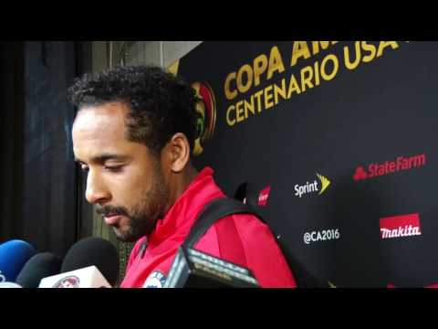 Chile 4-2 Panama Post-game Jean Beausejour