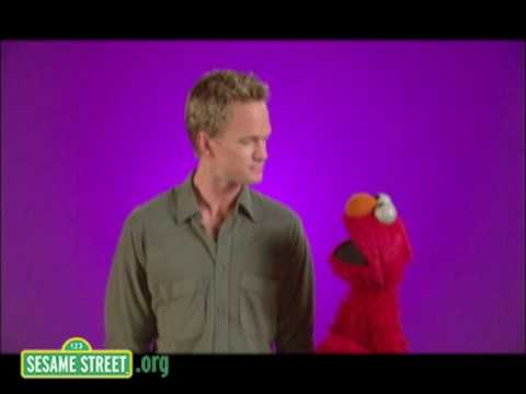 Sesame Street: Neil Patrick Harris Gets Interviewed by Elmo
