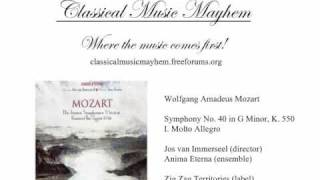 Mozart - Symphony No. 40 in G Minor, K. 550: I. Molto Allegro