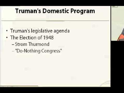 Truman and Eisenhower(History lesson)