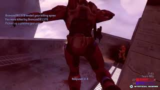 Halo 2 Classic Team Slayer on Lockout