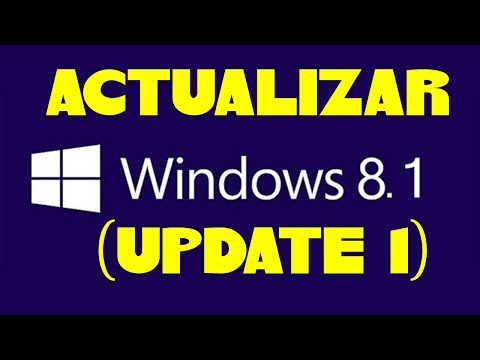 COMO ACTUALIZAR A WINDOWS 8.1 (UPDATE 1)