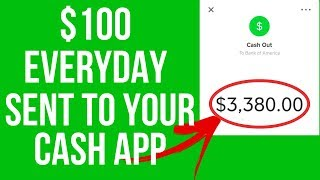 Earn $100 In Free Cash App Money Daily! (2019) 💰Automated Cash App System Get Cash App Money Free!