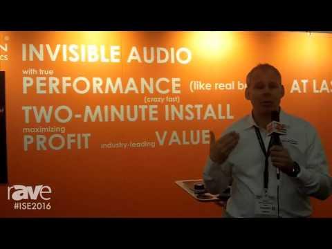 ISE 2016: Revolution Acoustics Displays the SSP6 Transducer