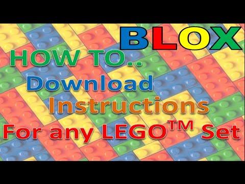 Lego Instructions Database 08 Kedai Grosiran